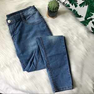 The Jegging Midrise Skinny Faded Jeans size 8